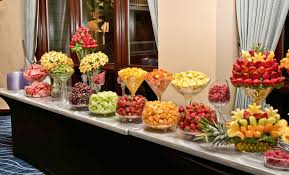 fruit decorations pictures of fruit tables for weddings new wonderful fruit