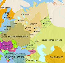 map of kazan map of russia at 1453ad timemaps