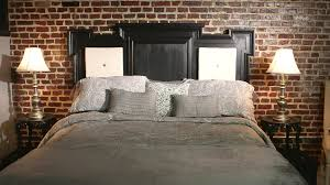 How To Make A King Size Platform Bed With Pallets by How To Make A Headboard Diy