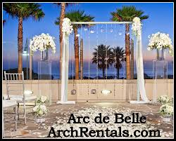 Wedding Arches Rental In Orlando Fl Wedding Chuppah Rental At Darlington House La Jolla Ca By Arc De