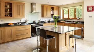 Bar Handles For Kitchen Cabinets Oak Kitchen Black Counter But Light Floor Modern Accents