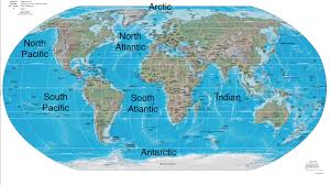 Ocean Maps Ocean Maps And Map Of World With Oceans The Besttabletfor Me