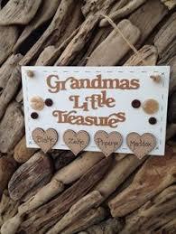 Grandparent Plaques Granny Nanny Nanna Grandad Plaque Personalised Gift Keepsake In