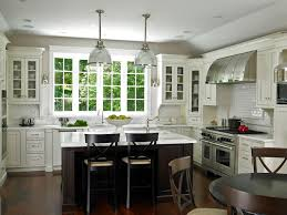 white kitchen black island kitchen fancy rustic kitchen with classic black island and bay