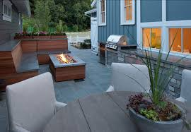 Small Patio Design Transitional Small Home With Coastal Interiors Home Bunch