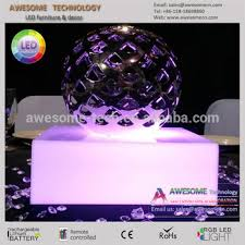 Led Light Base For Centerpieces by Led Lighted Acrylic Base For Centerpieces Wedding Bb104 Buy