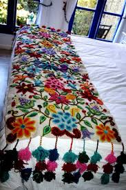 bed sheet embroidary on sheet broderie in india online