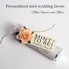 mint to be favors mint favors tangerine wedding favors mint to be wedding favors