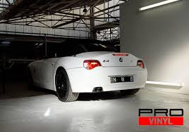 matte white bmw vehicle vinyl wrapping and car paint protection 1