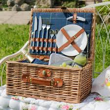 picnic baskets for two personalised luxury two person picnic by dibor