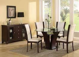 modern round dining room table modern round glass top dining table nurani org