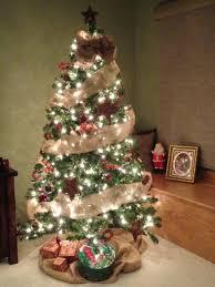 marvelouss tree ribbon garland on decorating ideas bow