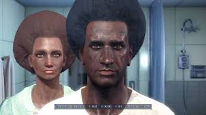 t haircuts from fallout for men soul survivor reloaded immersive afro hair redux at fallout 4