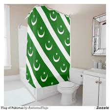 Pakistans Flag Flag Of Pakistan Shower Curtain Pakistan And Flags
