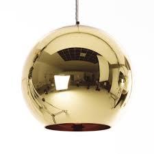 Yellow Pendant Lights Copper Round Pendant Light Ceiling Lights Lighting