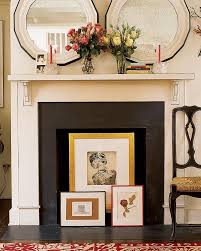 How To Make Fake Fireplace by The 25 Best Unused Fireplace Ideas On Pinterest White Fire
