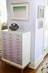 Dining Room Chest by Lavender Dining Room Reveal