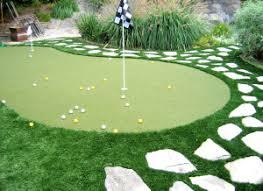 Backyard Golf Course by Artificial Grass For Mini Golf Course San Diego Ca