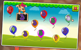 balloon pop kids learning game free for babies android apps