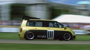 renault minivan this is how you fire up the insane renault espace f1 van