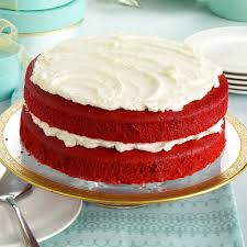 makeover red velvet cake recipe taste of home