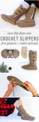 ugg crochet slippers sale 25 best crochet boots ideas on diy crochet slipper