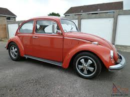 orange volkswagen beetle mint 1971 volkswagen 1300 beetle orange very original