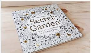 secret garden coloring book chile garden design book picture more detailed picture about original