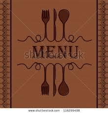 Designs Of Menu Card Menu Card Design Template Stock Vector 31450312 Shutterstock