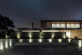riverside lighting santa cruz casa claros project located on a slope along the riverside