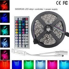 5050 smd 300 led strip light rgb 60w waterproof led strip light rgb 4500lm smd 5050 eu plug 5m
