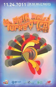 the annual turkey trot is happening again it s a 10k or 5k race