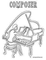 coloring download composer coloring pages classical composer