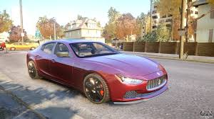 maserati coupe 2014 maserati ghibli 2014 v1 0 for gta 4