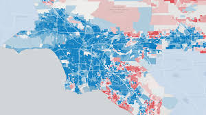 San Gabriel Map California Neighborhood Election Results La Times