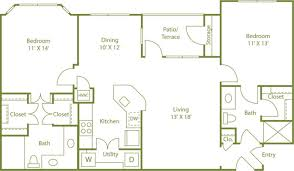 Casa Bella Floor Plan Costa Bella Apartment Homes Apartments For Rent In San Antonio
