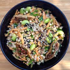 cuisiner les graines de sarrasin recettes santé nutrisimple salade de sarrasin à l asiatique