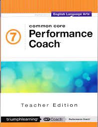 common core performance coach english language arts grade 7