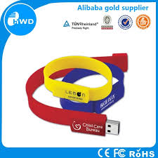 le de bureau usb silicon usb flash drive china factory manufacturer bracelet usb