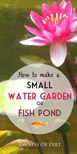Small Water Ponds Backyard Best 25 Small Ponds Ideas On Pinterest Small Backyard Ponds