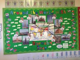 geoagraphy world barnaby display classroom display