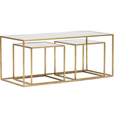 Modern Glass Coffee Tables Coffe Table Gold Glass Coffee Table Hiver From Legs Southern