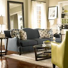 Yellow Livingroom by Nice Sofa Color This Might Suit Us Dark Grey Sofa For The