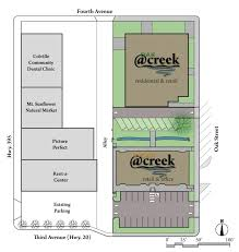 site plan at creek ii llc