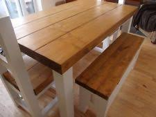 rustic kitchen table and chairs rustic table and chairs ebay