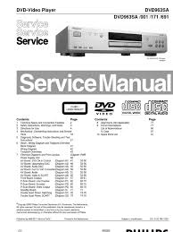 philips dvd963sa dvd service manual mains electricity ac power