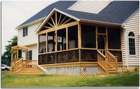 Screened In Patio Designs Attractive Screen Porch Plans Colour Story Design Screened In