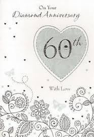 60th Wedding Anniversary Greetings 60th Wedding Anniversary Ebay
