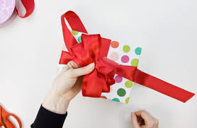 loopy bow how to make a big loopy satin gift bow paper crave