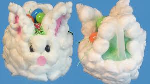 bunny easter basket fluffy bunny easter basket grandparents